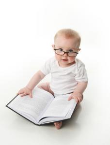 young pediatric optometrist reading glasses